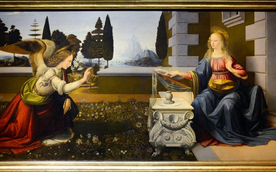 Uffizi, discovering Leonardo & Piero della Francesca